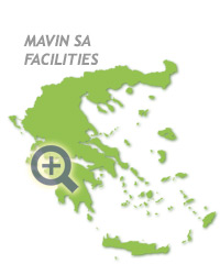 Mavin's location in Greece